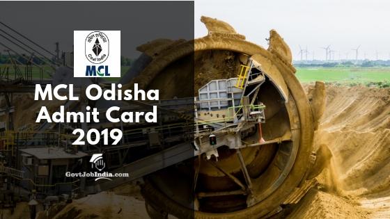 MCL Odisha Result 2019
