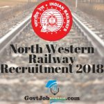 North Western Railway Apprentice recruitment