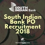 South Indian Bank PO Recruitment 2018