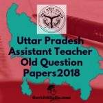 UP Assistant Teacher Old Question papers