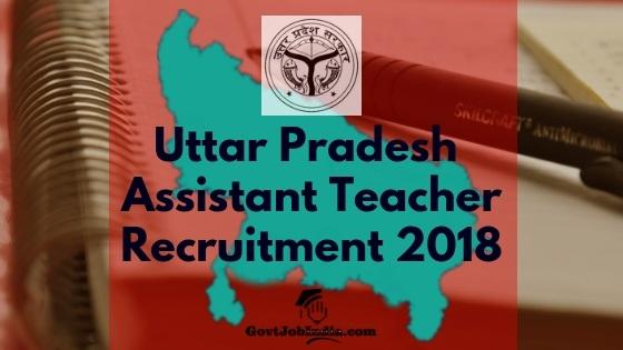 UP Assistant Teacher Recruitment Notification