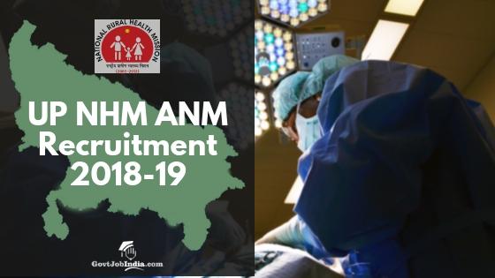 UP NHm ANM Vacancy 2018-19