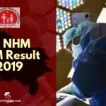 UP NHM ANM Result Cut Off marks 2019