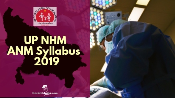 UP NHM ANM Syllabus and Exam pattern