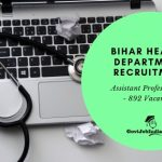 Bihar Assistant Professor Recruitment - Apply online Now