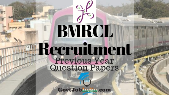Bangalore Metro Recruitment Model Question Papers