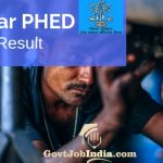 Bihar PHED Result