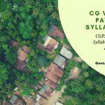 CGPEB Patwari Syllabus and Exam Pattern 2019