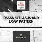 Download DSSSB Syllabus Pdf