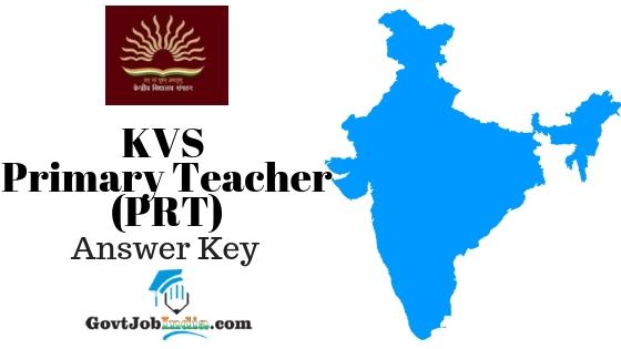 Download KVS PRT Answer Key 2018 PDF - KVS Primary Teacher