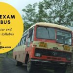 MSRTC Driver and Conductor Exam Syllabus PDF Download 2019