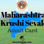 Maha Krushi Sevak Admit Card