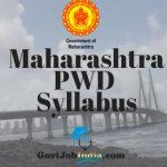 Maha PWD Syllabus