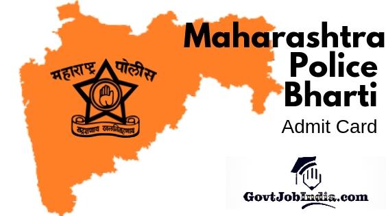 Maharashtra Police Bharti Hall Ticket Download