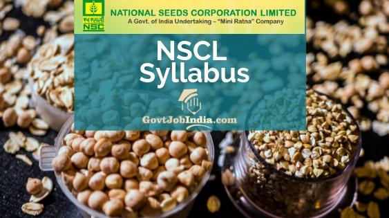 NSC Exam Pattern and Syllabus 2019