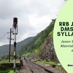 Download RRB JE, JE (IT) DMS & CMA SYLLABUS PDF online Now