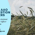 TNPSC AAO Model Question Apaper PDf Download Online