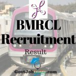 BMRCL Maintainer Result