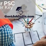BPSC Assistant Engineer Answer Key