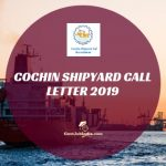 How to download Cochin Shipyard Call Letter Online?
