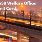 DSSSB Call Letter 2019