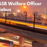 DSSSB Welfare Officer Syllabus