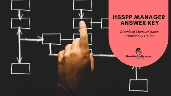 HSSPP MANAGER ANSWER KEY download online