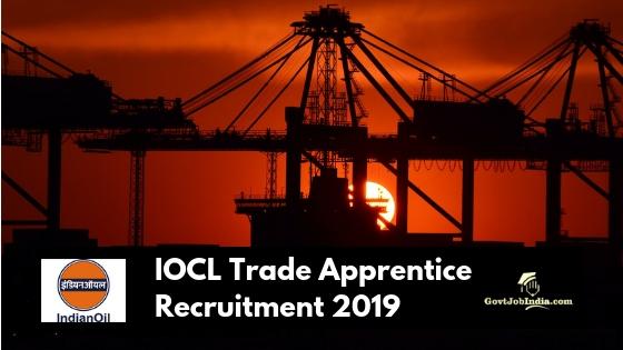 IOCL Western Region Trade Apprentice Recruitment