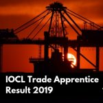 IOCL Result 2019