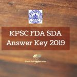 KPSC Answer Key