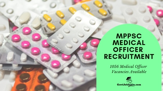 MPPSC MEDICAL OFFICER RECRUITMENT Apply online Now