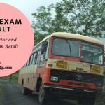 MSRTC EXAM RESULT Cut Off and Merit List
