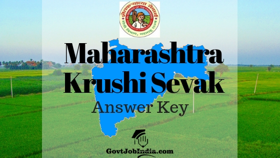 Maha Krushi Vibhag Answer key