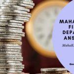 Mahafinance Online xam Answer key 2019