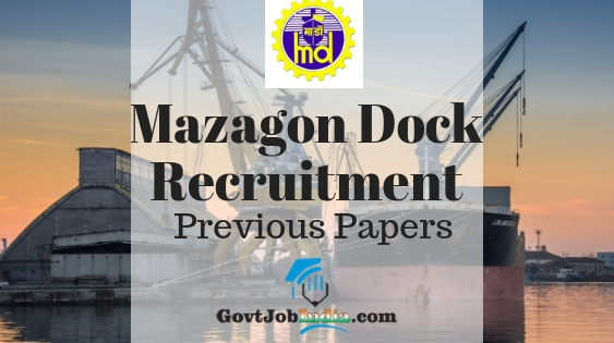 MDL Technical Staff Previous Papers PDF Download- Mazagon