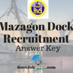 Mazagon Dock Answer Key