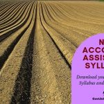Download NFL Accounts Assistant Syllabus 2019 PDF