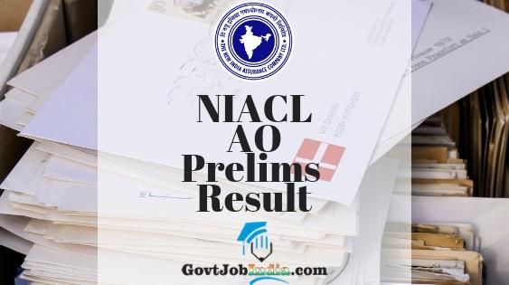 NIACL AO Prelims Cut off