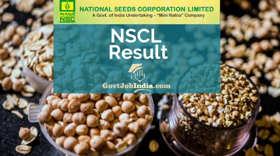 NSCL Result 2019