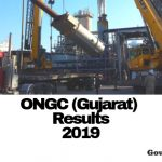 ONGC Gujarat Results 2019
