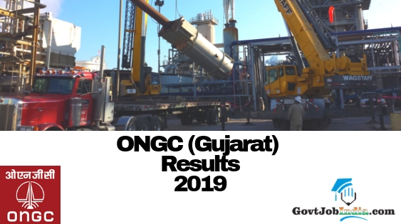 ONGC Gujarat Results 2019