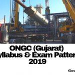 ONGC Assistant Engineer Syllabus 2019