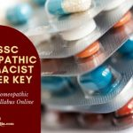 UPSSSC HOMEOPATHIC PHARMACIST ANSWER KEY Online 2019