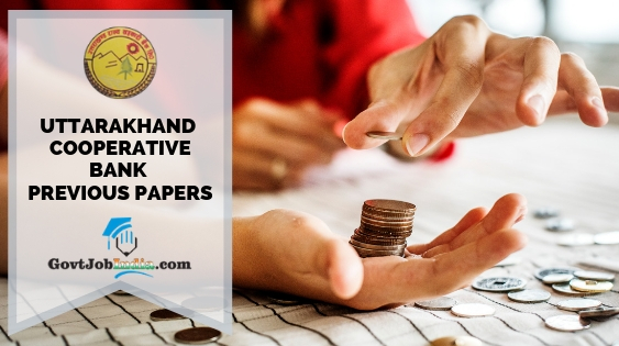 Uttarakhand State Cooperative Bank Previous Paper