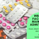 WBHRB facility Manager Admit card Download Online Now