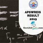 APSWREIS Result 2020