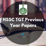 HSSC TGT Question Papers