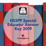 HSSPP Answer Key