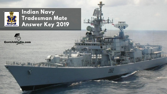 Indian Navy Answer Key 2019