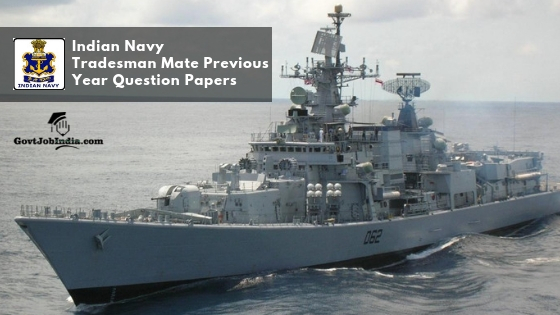 Indian Navy Previous Year Question Papers